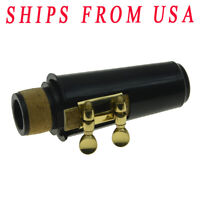 KAISH Bb Clarinet Mouthpiece with Ligature,one Reed and Plastic Cap GD/NI