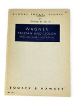 Wagner Tristian and Isolda Orchestra Score Sheet Music Hawkes Pocket Scores