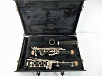 Le Blanc Normandy 4 Wood Clarinet For Parts Or Repair
