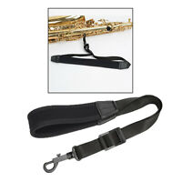 Music Instrument Neck Strap for Saxophones, Horns, Bass Clarinets, Bassoons