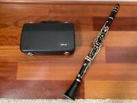 Yamaha YCL-250 Bb Clarinet w/all parts and case (FULLY FUNCTIONAL AND SANITIZED)