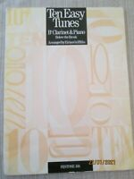 TEN EASY TUNES for Bb Clarinet & Piano by Eirian Griffiths (paperback)