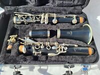 Clarinet Yamaha YCL 250 Clarinet With Vandoren Mouthpiece And Case