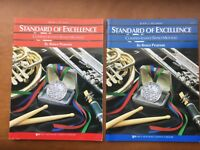 Bb Clarinet Standard of Excellence Comprehensive Band Method:   Books 1 and 2