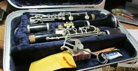 CLARINET---CONN 16  B-FLAT---WITH CASE-----USED---[40-50 YEARS OLD!]