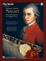 Clarinet Concerto in A Major K. 622 Clarinet Learn MUSIC BOOK & ONLINE AUDIO