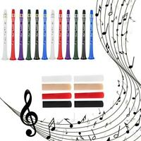 Mini Pocket ABS Saxophone Clarinet +2 Reeds with Velvet Carrying Pouch Set Tools