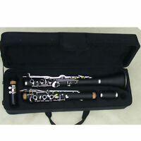professional G key clarinet Hard rubber Good material good sound #26799