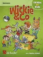 Wickie & Co Learn to Play Present German EASY Clarinet MUSIC BOOK & CD