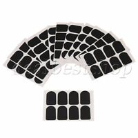 80 Pieces Type 2 Trapezoid Sax Clarinet Mouthpiece Patches Pads 0.8mm