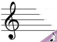 Nighttime Flute, Clarinet, Violin, Cello and Piano Learn Play MUSIC STUDY Score