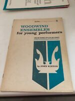 woodwind Ensembles- Three part ensembles for flutes and clarinets