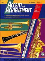 O'Reilly Williams - Accent On Achievement Book - Clarinet