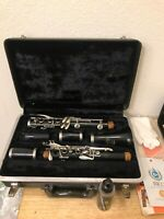 Vintage Bundy Selmer Resonite Clarinet Student Instrument With Case Parts Only
