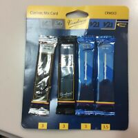 Vandoren Bb Clarinet Mix Card Reeds-CRMIX3