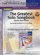 GREATEST SOLO SONGBOOK Clarinet/Bass Clarinet +CD