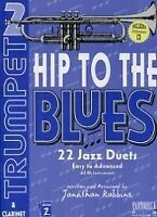 HIP TO THE BLUES 2 Trumpet Duets Book & CD