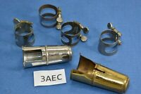 Metal France mouthpiece ligatures & covers for clarinets or alto Saxophone sax