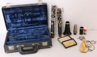Jean Barre France Wood Clarinet Woodwind Musical Instrument Concert Band Black