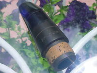 VINTAGE FRENCH HOLTON  CLARINET MOUTHPIECE HS  HARD RUBBER