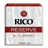 Rico Reserve Bb Clarinet Reeds Strength 4.5 - pack of 10 Reeds No 4 1/2