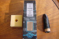 NOS SELMER  CLARINET MOUTHPIECE REF#3 HS STAR  FRANCE  HARD RUBBER 1990s