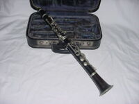 COUESNON 12 KEY ALBERT SYSTEM WOOD CLARINET 8CIE PARIS EXPOSITION C LOW PITCH