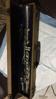 1920's Metal Noblet France Clarinet Serial #788 Great Condition / with case