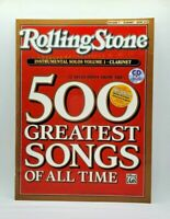 Selections Rolling Stone Instrumental Solos Vol.1 CLARINET Magazine Songs & CD