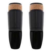 2 Pieces Robust Bass Clarinet Mouthpiece for Woodwind Instruments for