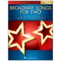 Hal Leonard Broadway Songs for Two Clarinets - Easy Instrumental Duets