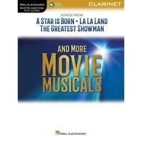 Songs from Star Is Born, La La Land & Greatest Showman for Clarinet Book/Audio