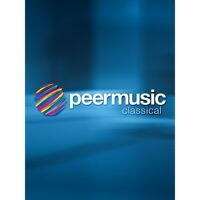 Peer Music Concerto for Clarinet and String Orchestra (Score)