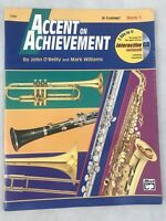 Accent On Achievement Sheet Music Book B Clarinet Book 1 Used 17084 Alfred