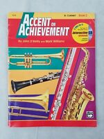 Accent On Achievement Clarinet Alfred Music Book 2 Sheet 18258 O'reilly