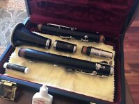 Buffet R13 Professional Bb Flat Clarinet Wooden Silver Plated