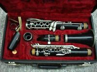 VINTAGE VITO RESO-TONE 3 CLARINET WITH A GATOR HARD CASE MADE IN USA *L@@K*
