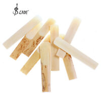 10pcs/set Clarinet Bamboo Reeds for 2 1/2 (2.5) Size Mouthpiece