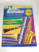 Accent on Achievement, Book 1, B-flat Clarinet,17084 with sealed CD PO