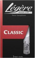 Legere Synthetic Tenor Saxophone Reeds - 1 Reed