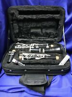 Buescher Aristocrat Bb Clarinet Outfit with cork grease, reed, and case
