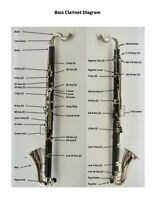 Vito Bass Clarinet - REPLACEMENT KEYS / PARTS ***Repair!***