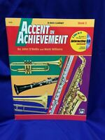 Accent on Achievement Book 2 for Bb Bass Clarinet w/CD