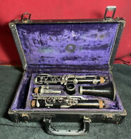 Vintage Normandy Reso-Tone Clarinet in a Hard Case