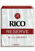 Rico Reserve Classic German Bb Clarinet Reeds, Strength 2.5, 10-pack