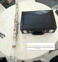 professional G key clarinet Silver plated key Good material good sound