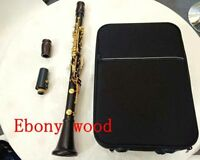 professional Bb soprano wood clarinet Golden key Good material good sound