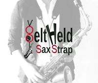 BeltHeld Sax Strap, Adjustable Small* Clip On Harness for sax & bass clarinet