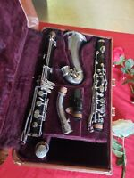 SELMER PARIS SERIES 9 ALTO CLARINET, PHISICALY IS GOOD,  IT MAY NEED A CHECK UP