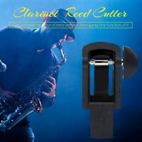 Mini Portable Clarinet Reed Trimmer Cutter Repair Tool Musical Instruments